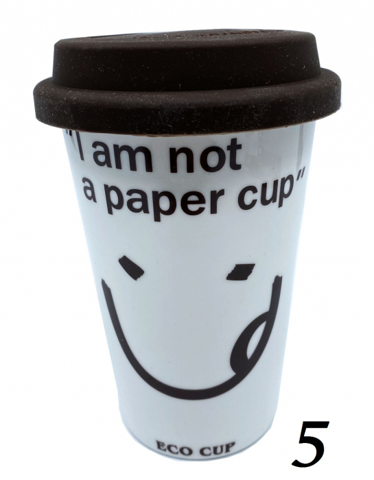 """Cana Eco """"I am not a paper cup"""" 4"""