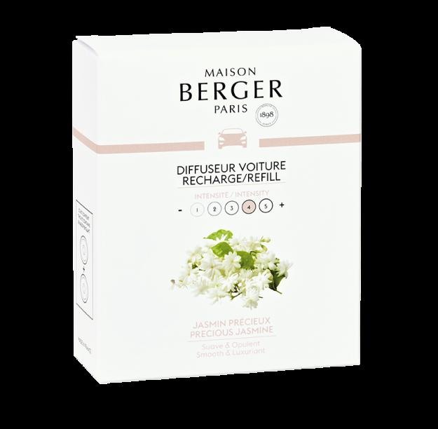 Car Lover - Berger Aroma Happy Fraicheur Aquatique Odorizant Masina + 3 Rezerve 3