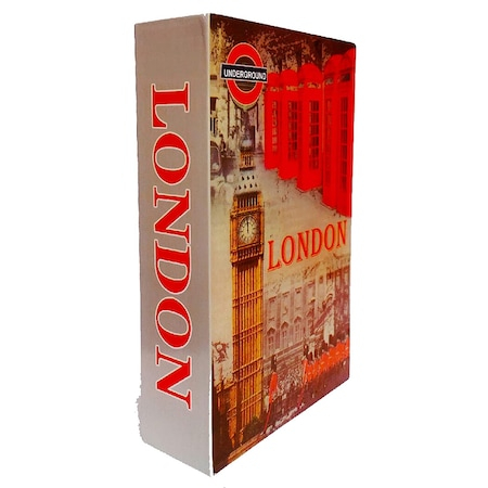 Carte Seif London Mare 26,5 x 20 x 6,5 cm [1]