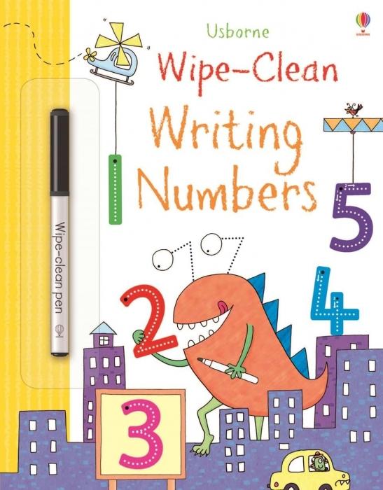 Carte Wipe-clean Writing Numbers 0