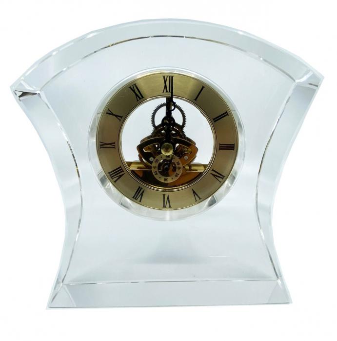 Ceas de birou din cristal 0