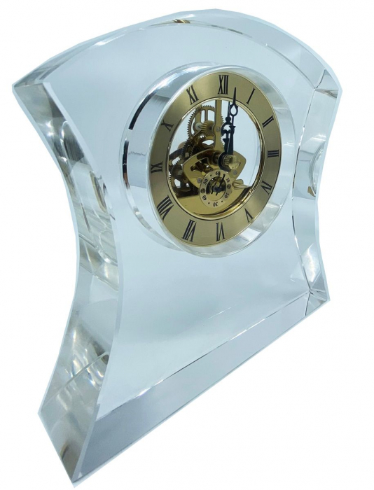 Ceas de birou din cristal 1