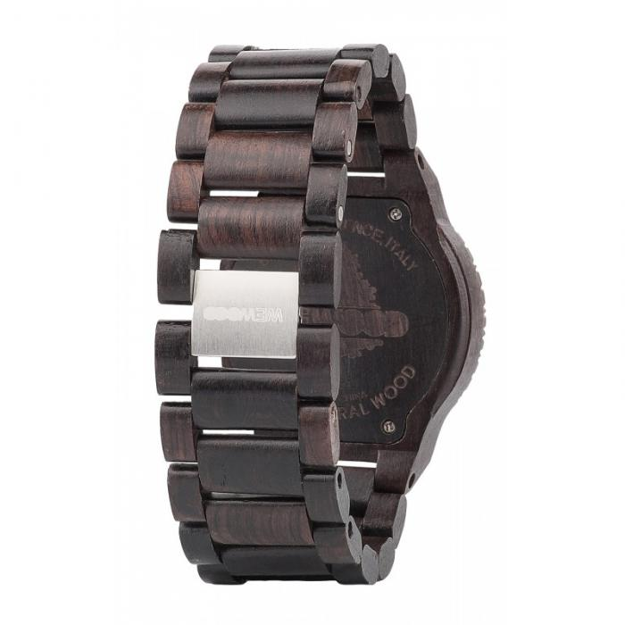 Kappa Black Wood Watch for Men - Ceas 100% din lemn lucrat manual-big