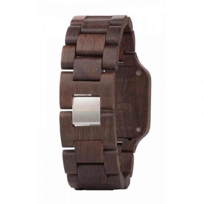 Metis Chocolate Wood Watch for Men - Ceas 100% din Lemn Lucrat Manual 2