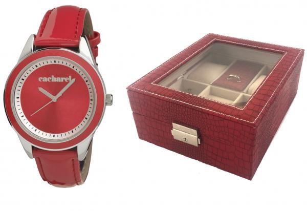 Ceas Red Monceau Cacharel & Cutie de ceasuri si bijuterii Borealy 0