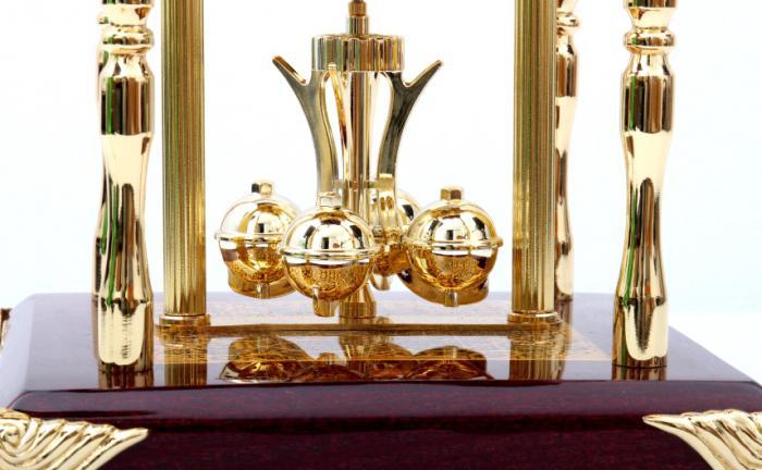 Set Ceas Danube by Credan si Butoni Gold Round by Credan 3