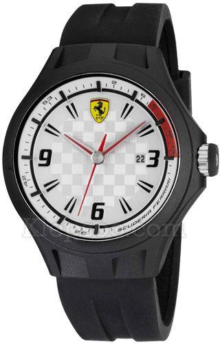 Ceas White Scuderia Ferrari Pit Crew-big