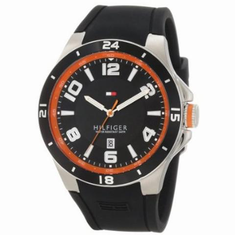 Ceas Tommy Hilfiger Black & Orange 0