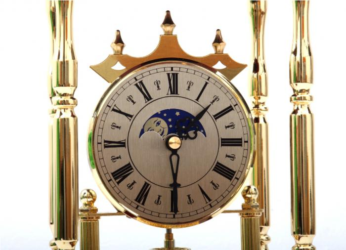 Set Ceas Danube by Credan si Butoni Gold Round by Credan [2]