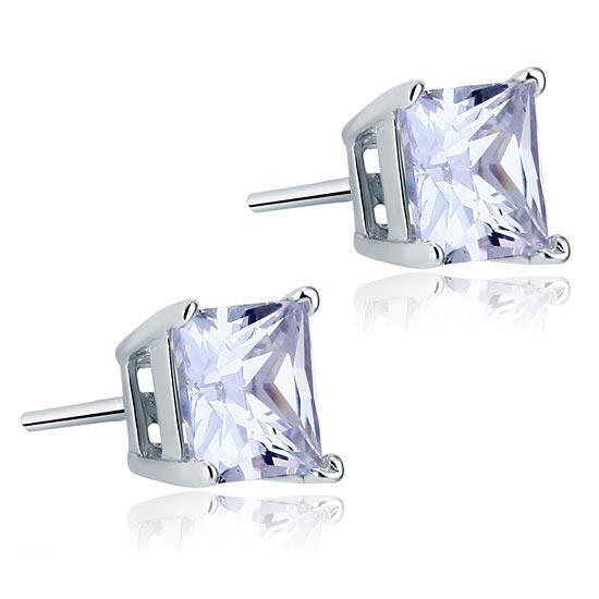 Cercei Borealy One Diamond Square Princess [0]
