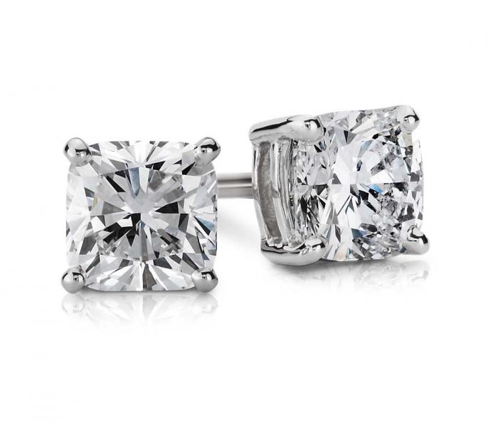 Cercei Borealy One Diamond Square Princess 1
