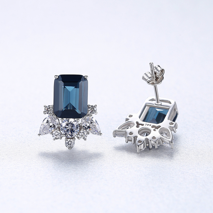 Cercei Lady Sapphire Blue Green 4