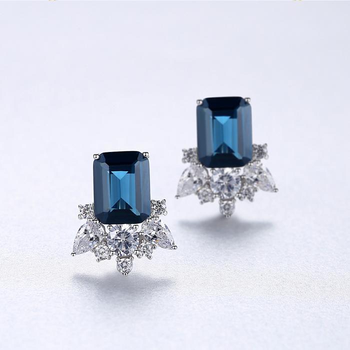 Cercei Lady Sapphire Blue Green 3