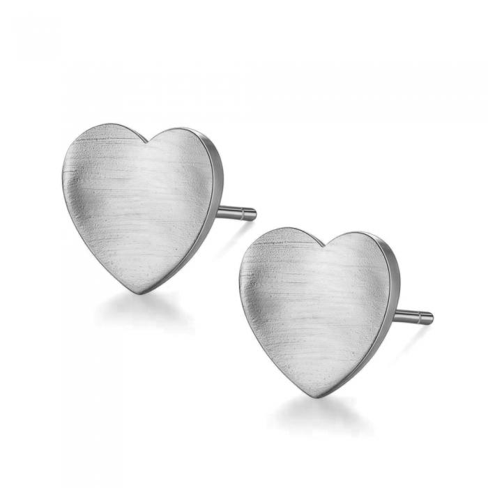 Cercei Borealy Argint 925 Heart [0]