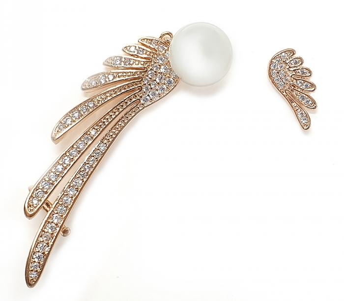 Cercei Borealy Asimetrical Wings Gold-big