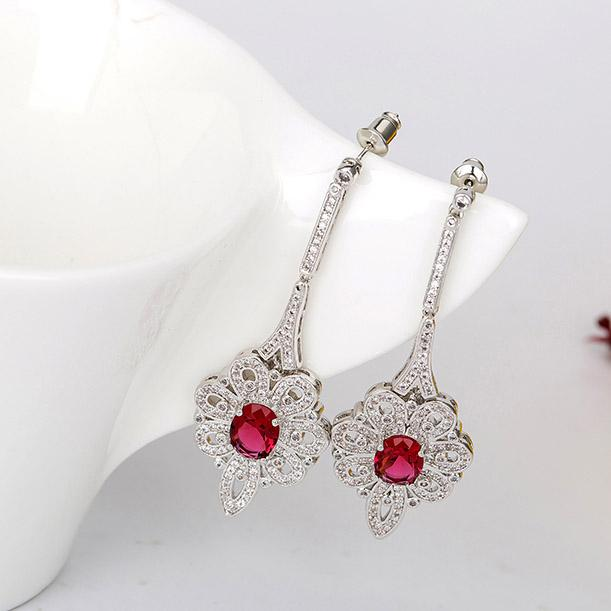 Cercei Borealy Chandelier Dhalia Red [1]
