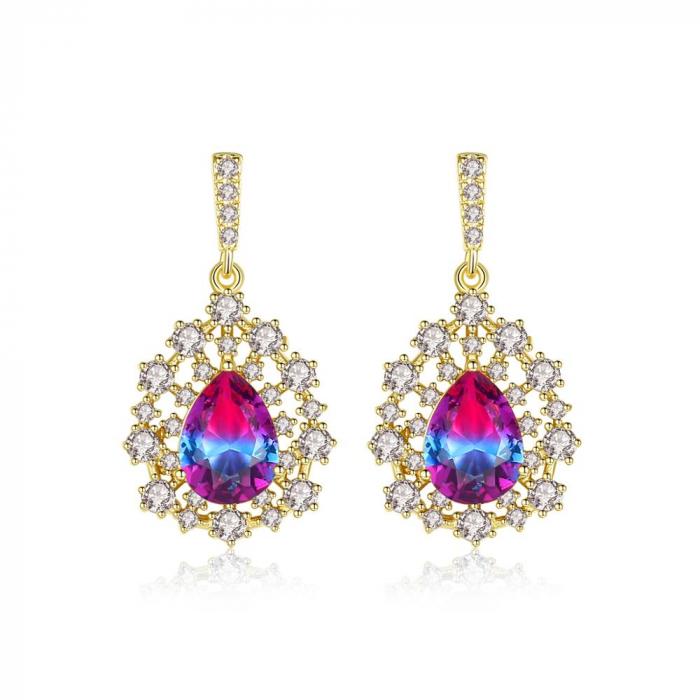 Cercei Sapphire Colours Fleur 3