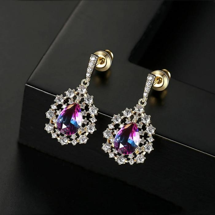 Cercei Sapphire Colours Fleur 2