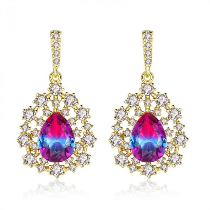 Cercei Sapphire Colours Fleur 0