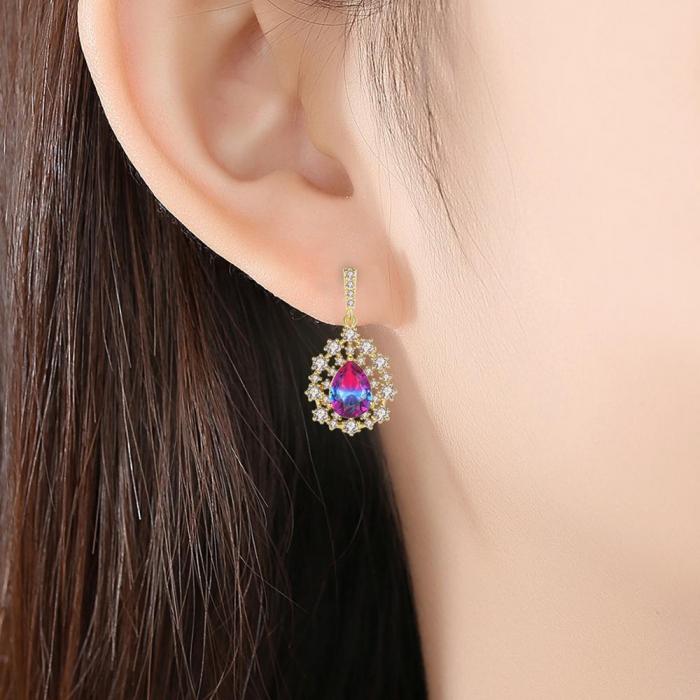 Cercei Sapphire Colours Fleur 1