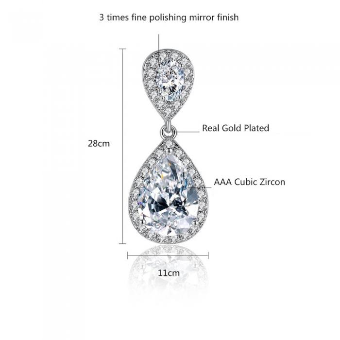 Cercei Bridal Drop Luxury by Borealy-big