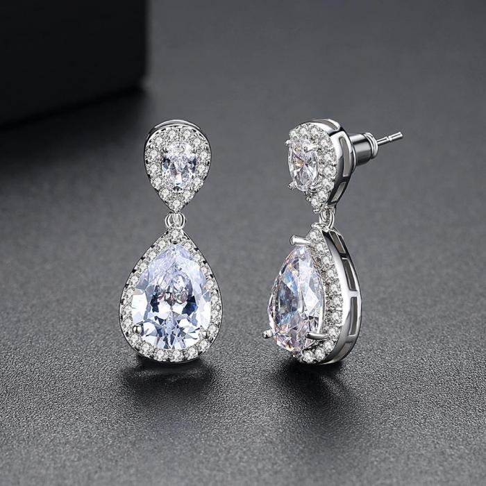 Cercei Bridal Drop Luxury by Borealy 2