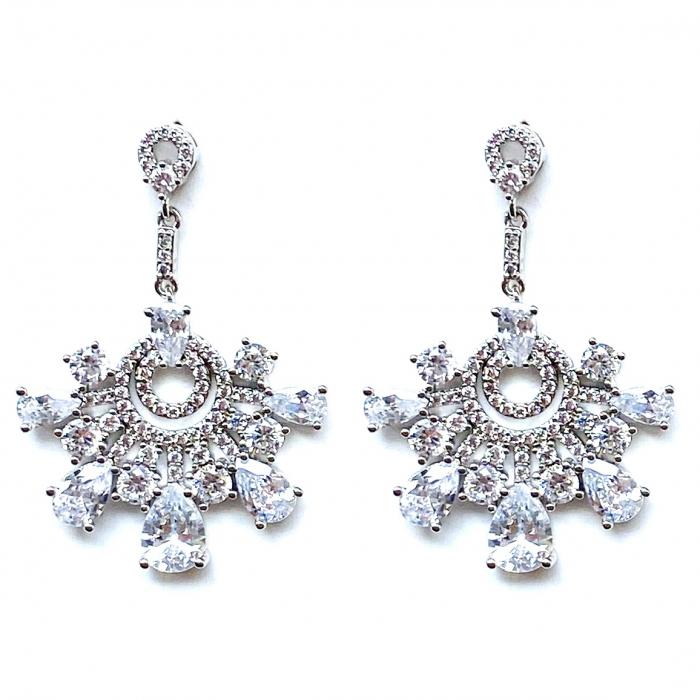 Cercei Chandelier Oriental Mini Diamonds [0]