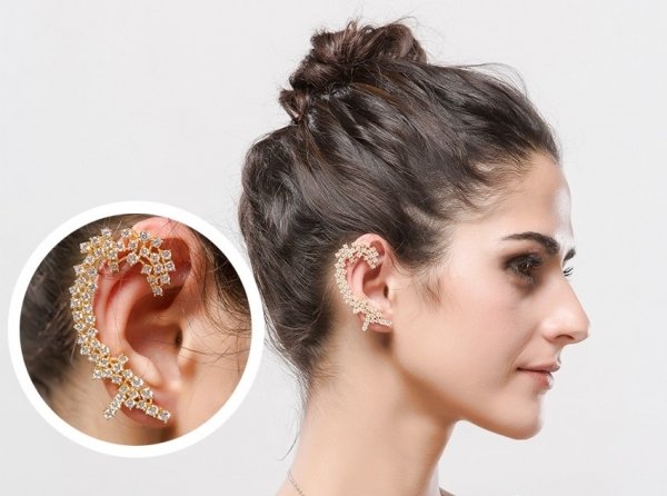 Cercei Ear Cuff Dantelle by Borealy-big