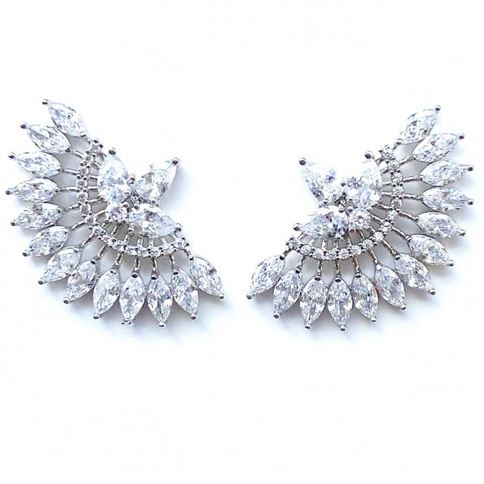 Cercei Luxury Evantai White [0]