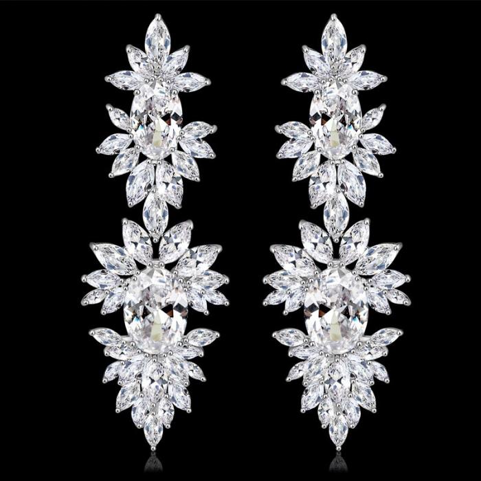 Cercei Mireasa Opulence Crystal 3