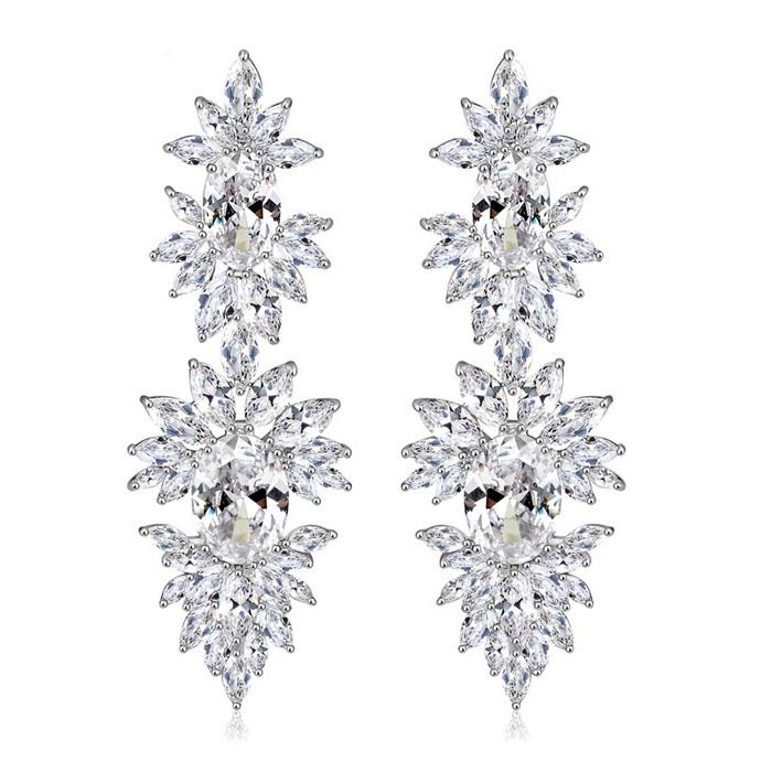 Cercei Mireasa Opulence Crystal 0