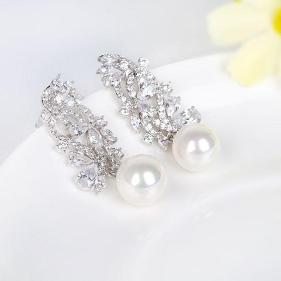 Noblesse Cercei Pearl Simulated Diamond 4
