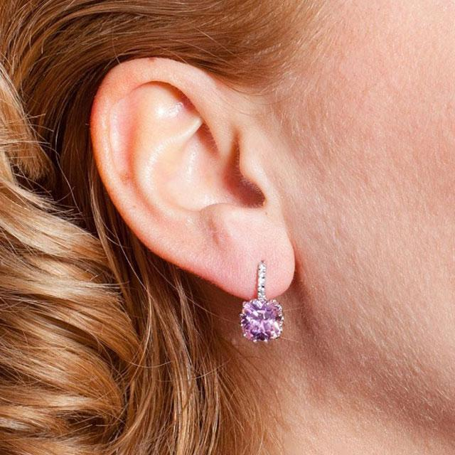 Cercei Borealy Sapphire 3 Carate Lilac 1