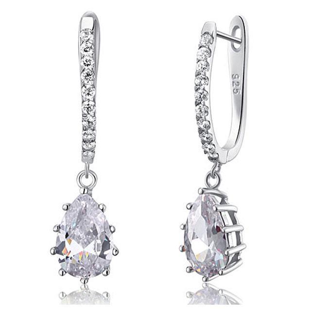 Cercei Borealy Argint 925 Diamonds 3 carate Aurora-big