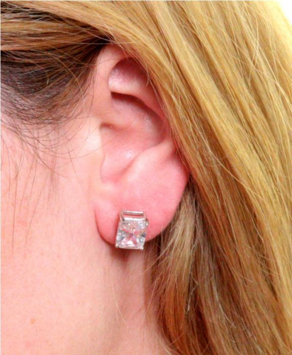 Cercei Borealy Argint 925 Diamonds Square 1