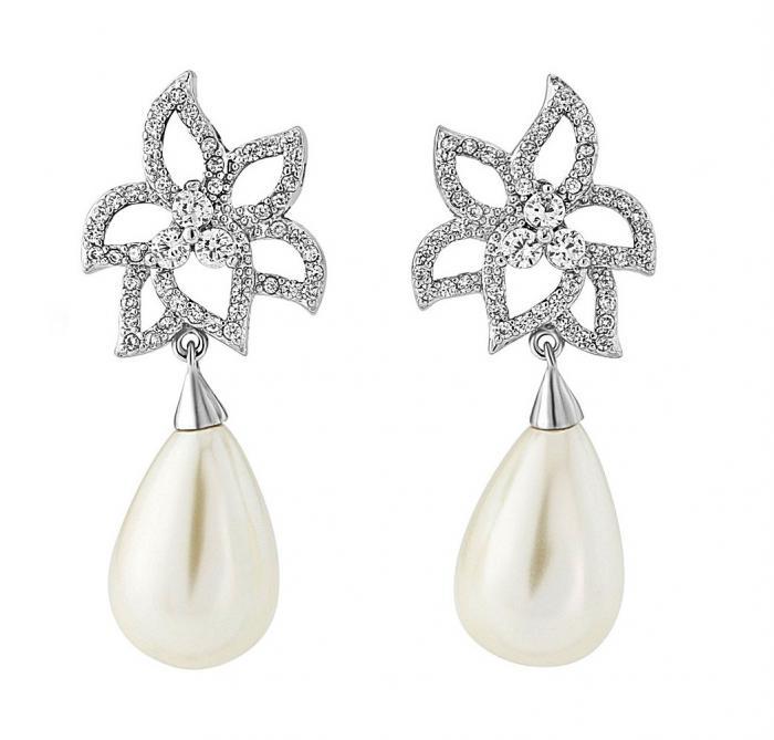 Cercei Borealy Classic Beauty Pear Pearl 0