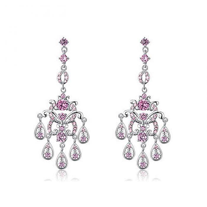 Cercei Borealy Diamonds Chandelier Clara Pink 1