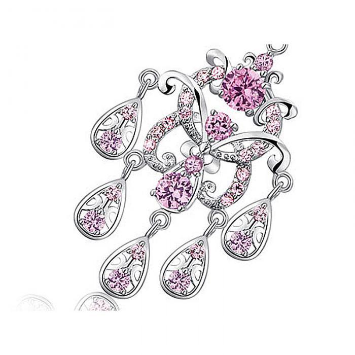 Cercei Borealy Diamonds Chandelier Clara Pink 2
