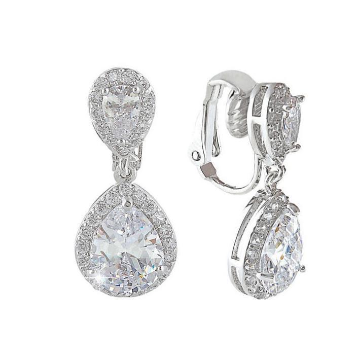 Cercei Borealy Luxury Bridal Clips 0