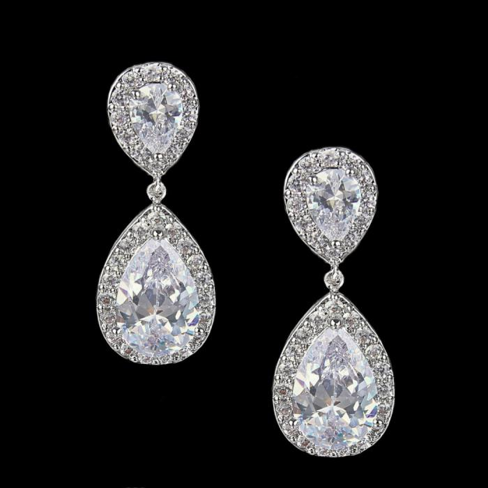 Cercei Borealy Luxury Bridal Clips 1