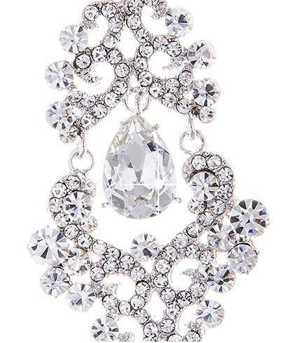 Cercei Chandelier Oriental Mini Diamonds 2