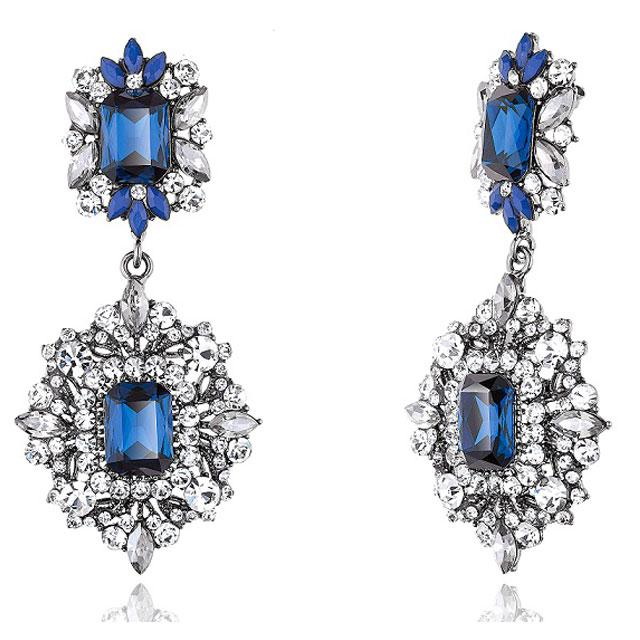 Cercei Borealy Simulated Sapphire Chandelier Great Gatsby 3