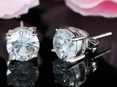 Cercei Borealy Argint Diamonds One-big