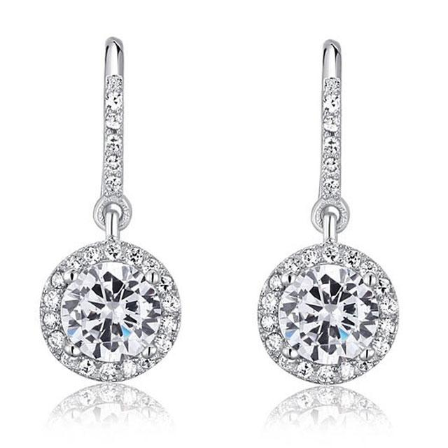 Cercei Borealy Argint 925 Diamond One [0]
