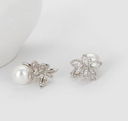 Cercei South Sea Flower Simulated Diamond [1]