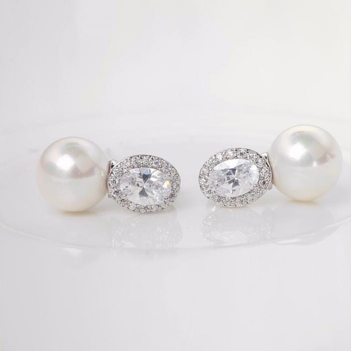 Cercei Borealy Pearl Crystal 2