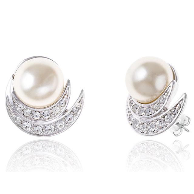 Cercei Perle Ivory Elegant-big