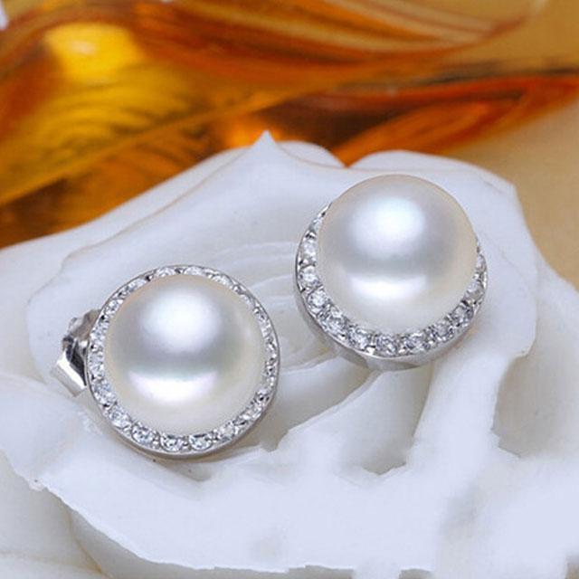 Cercei Borealy Argint 925 Perle Naturale 10 mm-big