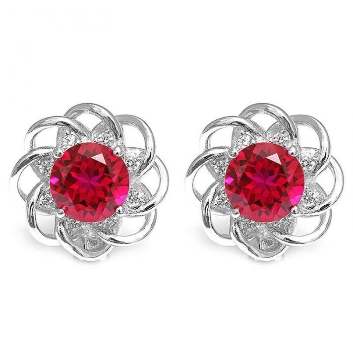 Cercei Rubin Rosa Borealy 0