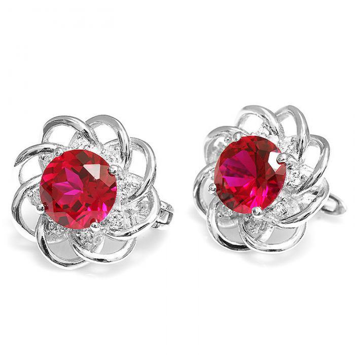 Cercei Rubin Rosa Borealy 3